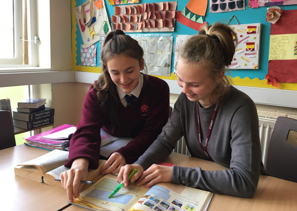 Spanish mentoring at lggs