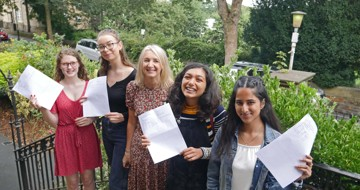 Congratulations to our A-level students on their excellent results