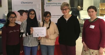 Royal Society of Chemistry's 'Top of the Bench' Regional Final Competition Winners