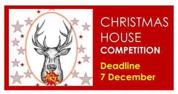 Art Department Christmas themed 'House' Competition - Deadline Monday 7th December