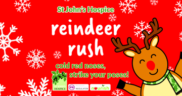 'Reindeer Rush' Seasonal Sponsored Run. Supporting St John's Hospice