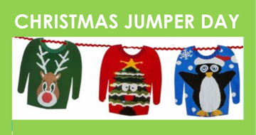 Christmas Jumper Day on Friday 11th December ... join in the fun and support good causes