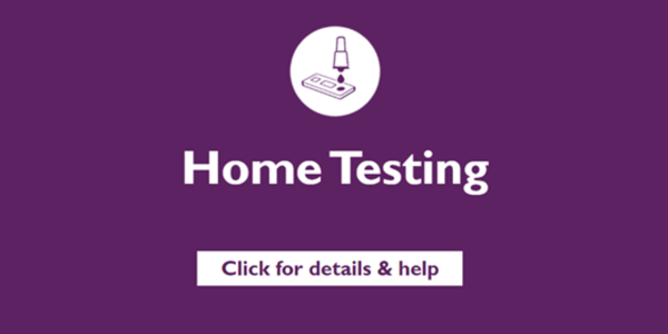 Home Testing - Lateral Flow Tests