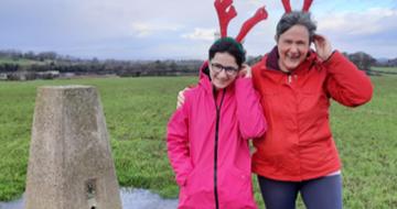 St  John's Hospice Donation - LGGS Reindeer Rush December 2020